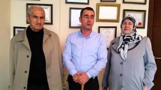 """AHMET HAYAT: """"Ağrılarından ayakta duramayan babamız Prof.Dr.Orhan Şen sayesinde bastonsuz yürüyor."""""""