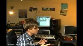 1/4 Sub Focus - How to make a drum & bass beat - DnB Masterclass 2008