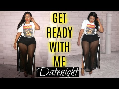 "GET READY WITH ME ""CASUAL DATENIGHT OOTD"" ♡  Fashion Nova Curvy, RPG SHOW WIG"