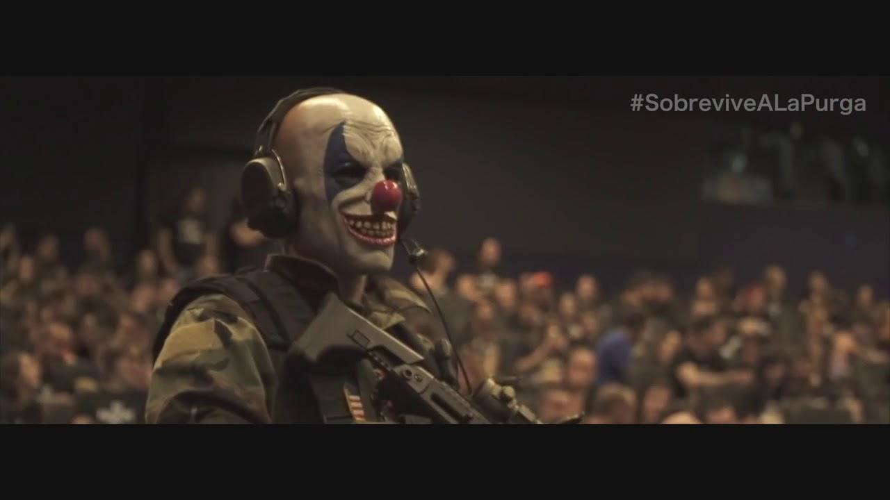 Sobrevive a La Purga Election La noche de las Bestias - YouTube