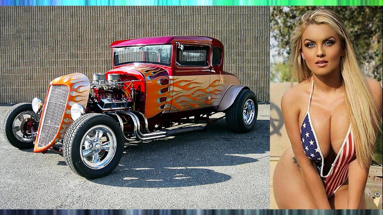 Big Bikini Babes, Hot Rods, & Muscle Cars