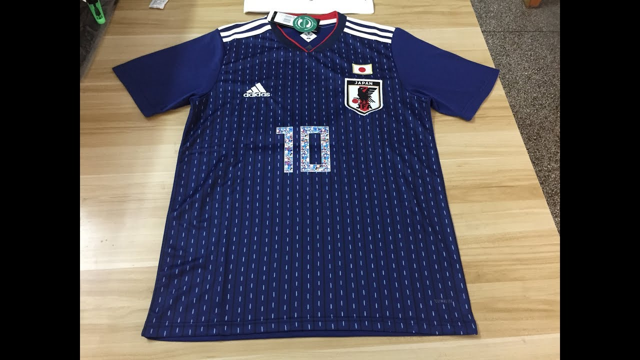 beccdb8fe 2018 World Cup Japan 2018 19 Home Soccer jersey Special Print ATOM 10 FROM  Robert