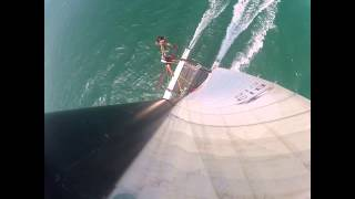 Teaser Hobie cat formula 18 catamaran wind gruissan gopro