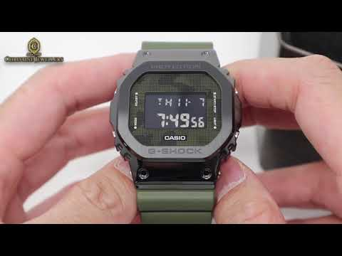 UNBOXING CASIO G-SHOCK METAL GM-5600B GREEN CAMOFLAUGE