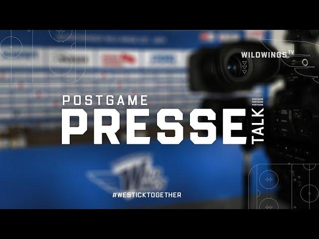 Pressekonferenz: Schwenninger Wild Wings-Krefeld Pinguine