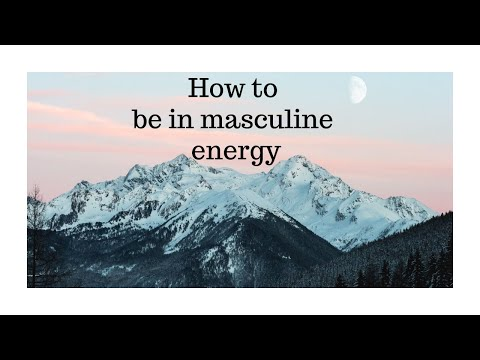 How to be in masculine energy when around a narcissistic female