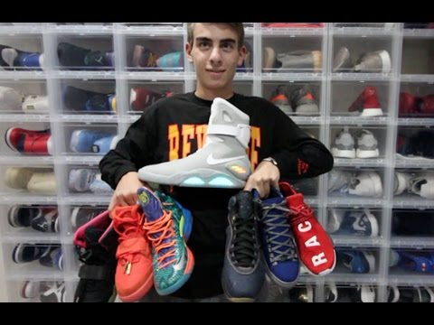 MY ENTIRE SNEAKER COLLECTION *** ($120,000 IN HEAT!!)