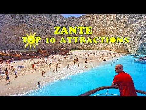 Zante Top 10 Attractions  HD