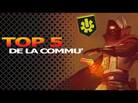 DESTINY 2 : LE TOP 5 DE LA COMMUNAUTÉ (7ÈME COLONNE...) thumbnail