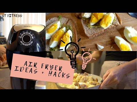 3 Air Fryer Recipes (that you didn't know you could make) + Air Fryer Hacks����