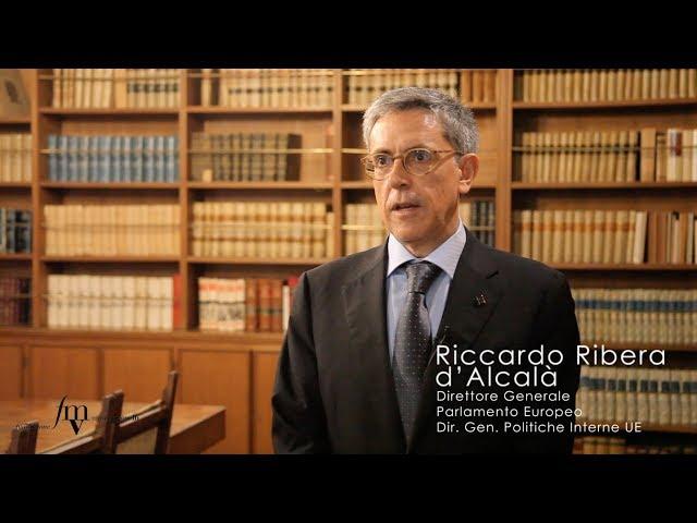 Riccardo Ribera d'Alcalà - Il ruolo dell'Europa sull'Intelligenza Artificiale