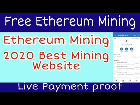 Free Ethereum Mining | Instant Withdrawal | 2020 New | Live ...