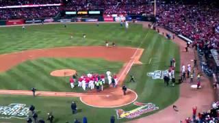 David Freese Game 6 walk off v Texas Rangers...World Series