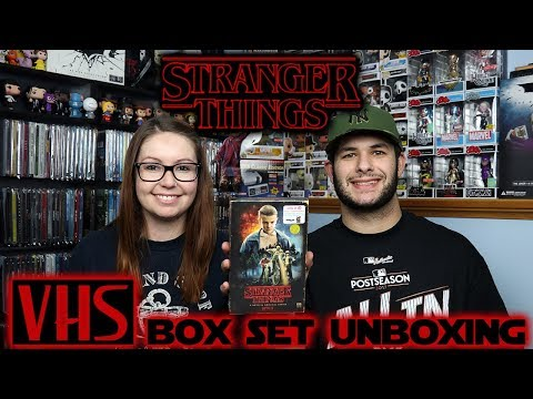 Stranger Things Season 1 Target Exclusive VHS Box Set Unboxing!