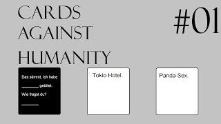 Cards Against Humanity #1 Tokio Hotel und Panda-Sex? [German/Deutsch]