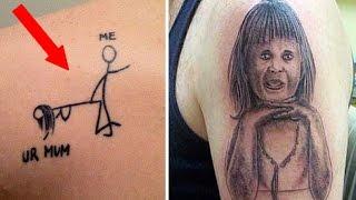 Los Tatuajes Mas Feos Del Mundo Stupid Tattoos Tatuajes Tontos