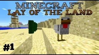 Minecraft: Lay of the Land - 1 - Tästä lähtee!
