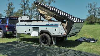 Touring Awning (Long Version) | Aussie Swag Campers