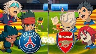 [Full HD 1080P] Inazuma Eleven UCL ~ Paris Saint-Germain vs Arsenal ※Pokemon Anchor※