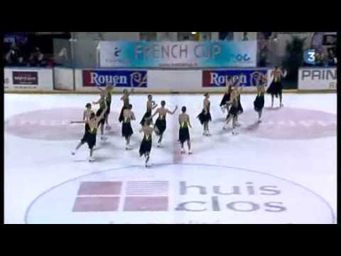 1/3 :Programme court seniors French Cup 2013 ( Short program seniors)