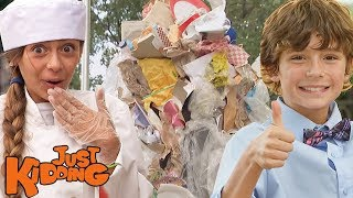 Broken Tables, Bad Dates, & Mountains of Garbage | Best of Just Kidding Pranks