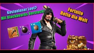 Blackbeards Hideout I Infinite Free Weapons I Save the World Fortnite
