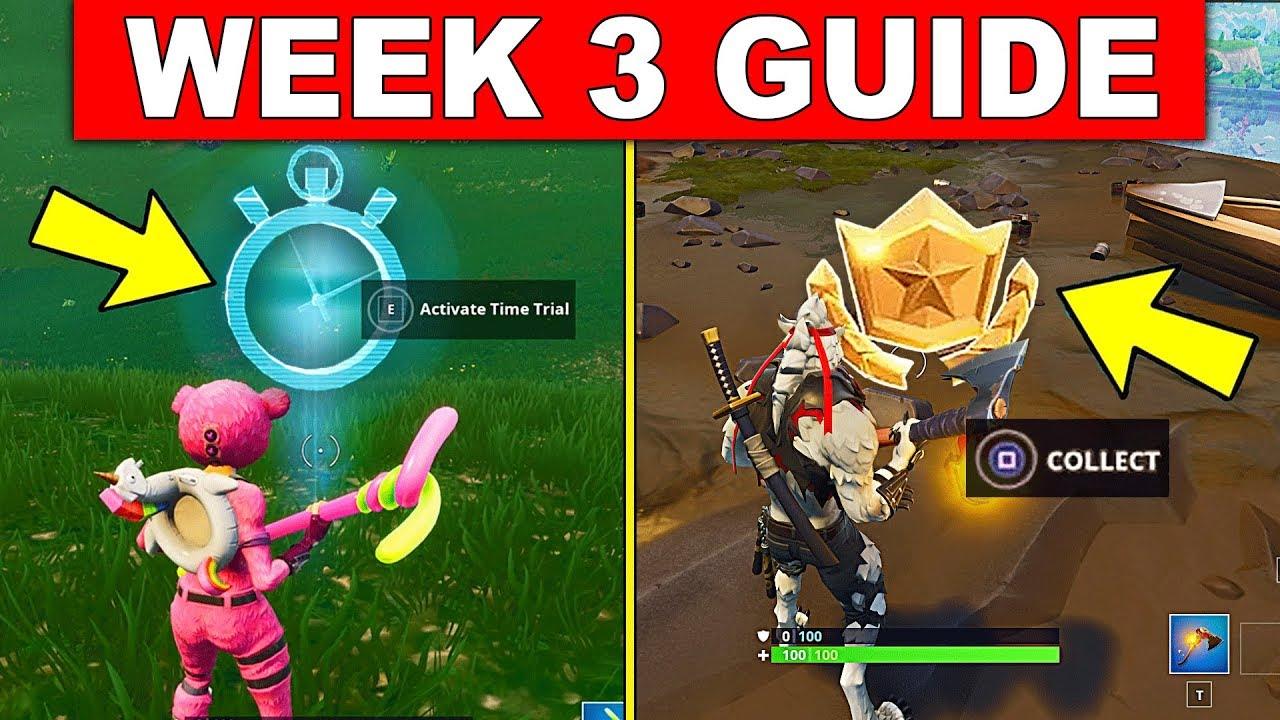 Fortnite Week 3 Challenges Guide Season 6 Complete Timed Trials