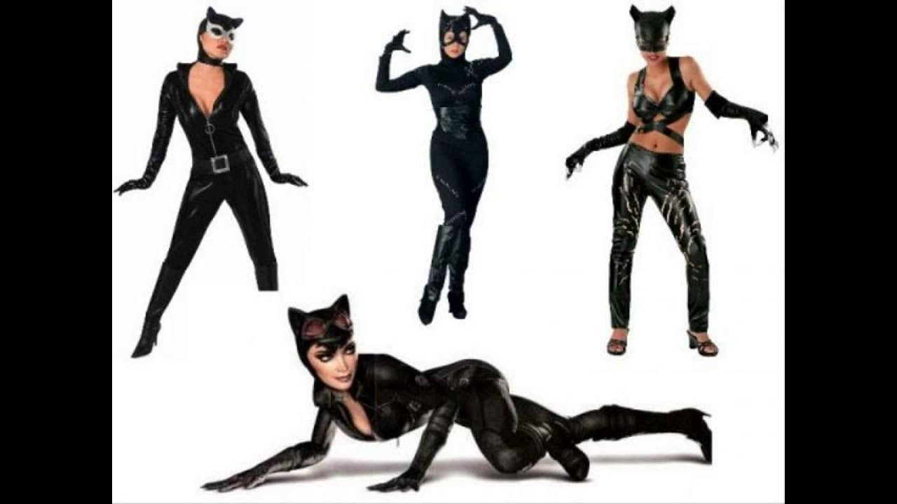 & halloween costumes cat woman - YouTube