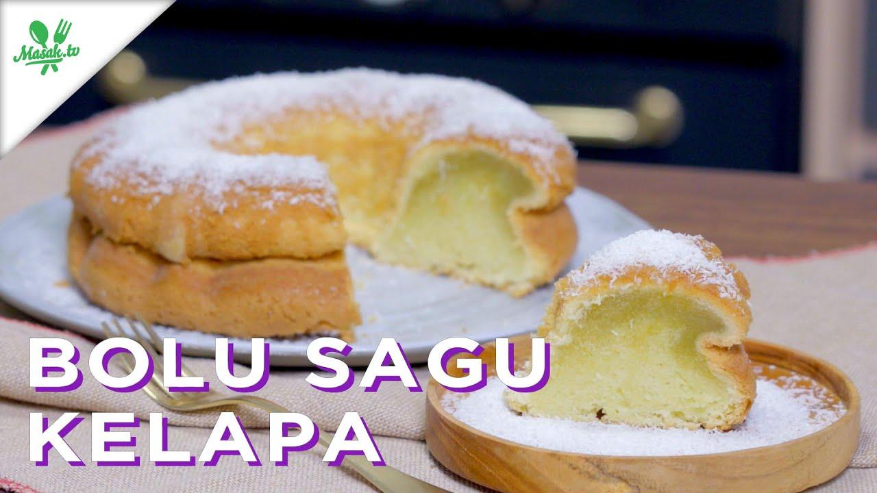 RESEP BOLU EMPUK KENYAL   Bolu Sagu Kelapa