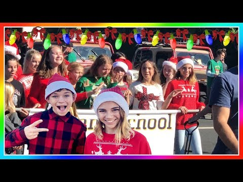 WE GOT TO BE IN A CHRISTMAS PARADE | House Update! | We Are The Davises