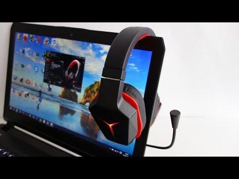 Лучшие 7.1 наушники.Lenovo Y Gaming Surround Sound Headset.Анбокс и обзор всех функций + тест микро!