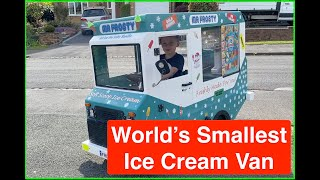 World's Smallest Ice Cream Van