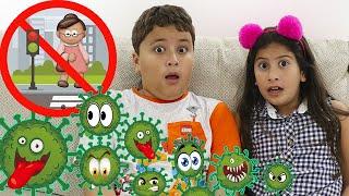 Regras de conduta para criança com Maria Clara e JP #2 ♥ Мария и правила поведения для детей