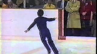 Terry Kubicka - 1976 Olympics - Free Skate