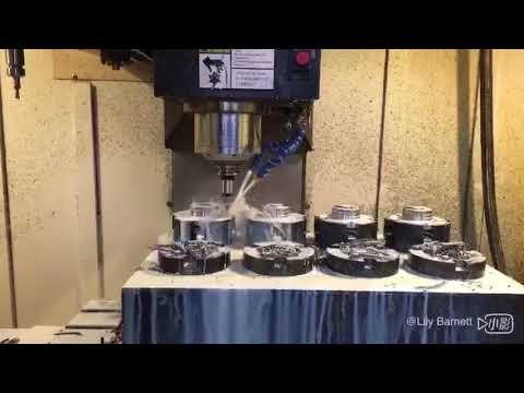 wheel hub bearing drilling