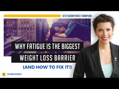 Why Fatigue is the Biggest Weight Loss Barrier (and How to Fix It!) with Susan Pierce Thompson