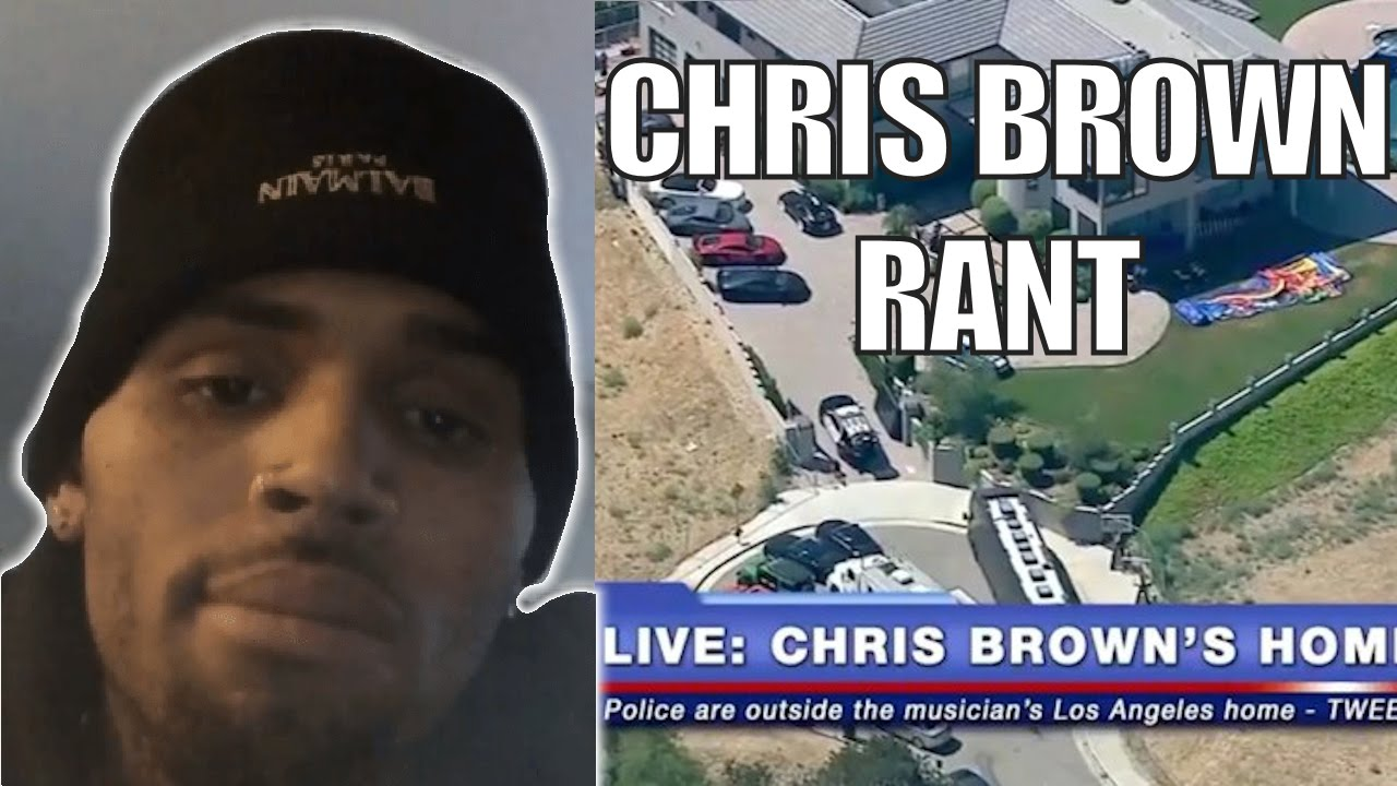 Chris Brown Posts Rant During Standoff with the LAPD
