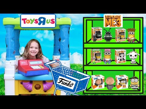PRANK Toys R US Worker Buys All the New Toys at the Fake Toy