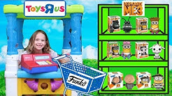 Pretend Toys R US Worker Buys TONS of New Toys