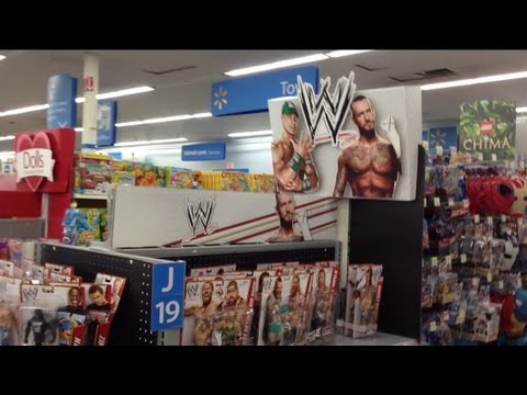 Wwe Action Insider Wal Mart Wrestling Figure Aisle Motherload Basic