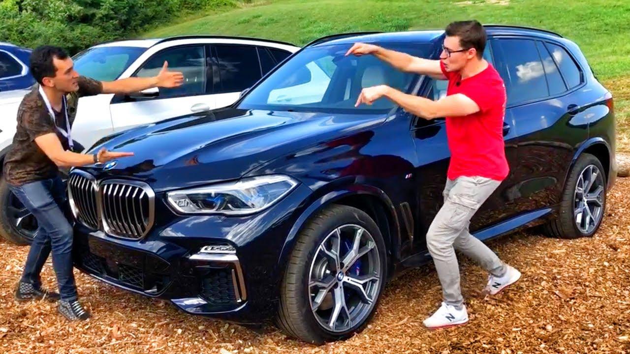ПЕРВЫЙ ТЕСТ-ДРАЙВ ( !!! ) Новый BMW X5 G05 2019 (M50D ...