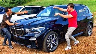 ПЕРВЫЙ ТЕСТ-ДРАЙВ ( !!! ) Новый BMW X5 G05 2019 (M50D) - едем с Павлом Блюденовым в Техасе, США.