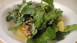 Sweet Lime And Rocket Salad With Maple Syrup Vinaigrette | Sanjeev Kapoor Khazana