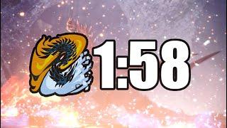 "ALATREON IN LESS THAN 2 MINUTES | MHW: ICEBORNE - ALATREON ""SPEEDRUN"" - 1:58"