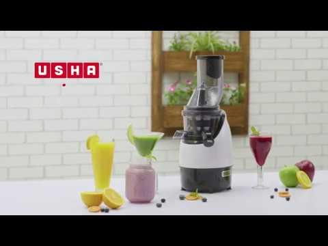 How to use Usha Cold Press Juicer 382F