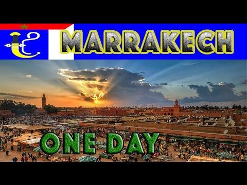Marrakech cosa vedere one day HD Ita
