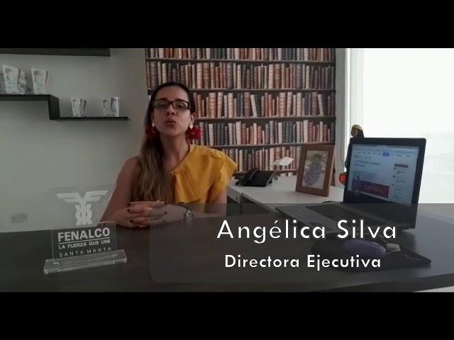 Angélica Silva, directora Ejecutiva de Fenalco Santa Marta #FelizCumpleañosElInformador
