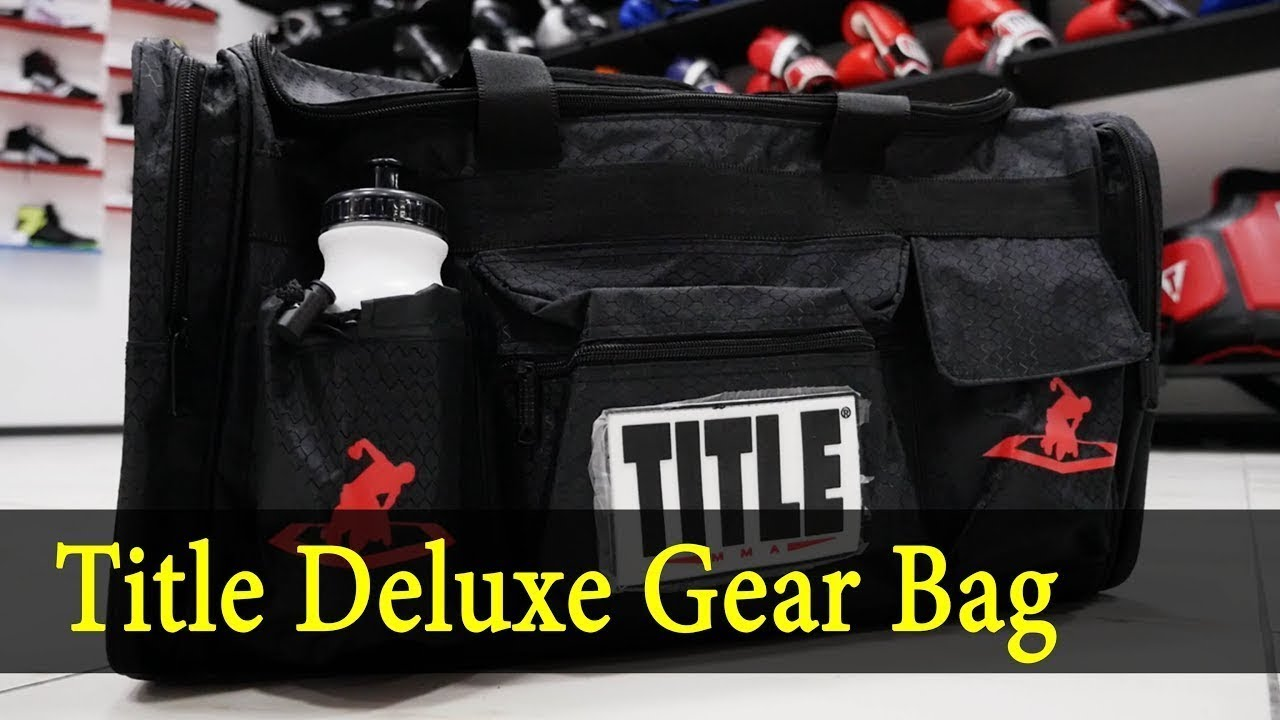 57a93e02787b Title Deluxe Gear Bag - YouTube