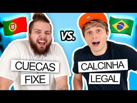 DIFERENÇAS ENTRE BRASIL E PORTUGAL ft. Gato Galactico