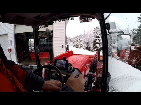 First Snow For 2016 /17 (The Last Snow Clearing Video)